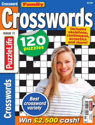 Family Crosswords Issue 011