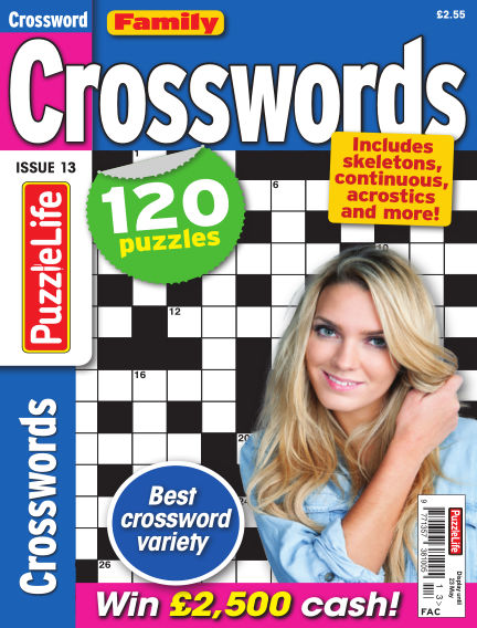 Family Crosswords April 25, 2019 00:00