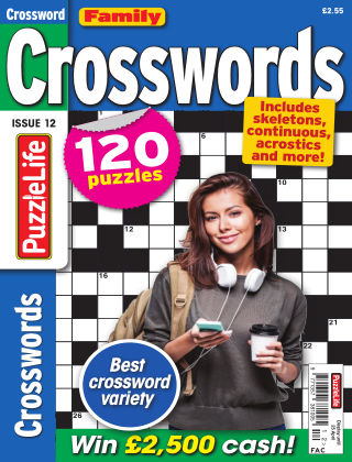 Family Crosswords Issue 012