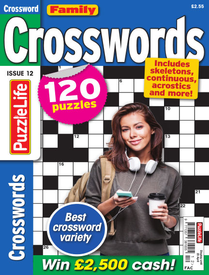 Family Crosswords March 28, 2019 00:00