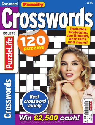Family Crosswords Issue 015