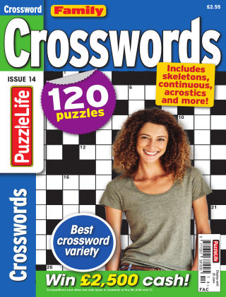 Family Crosswords Issue 014