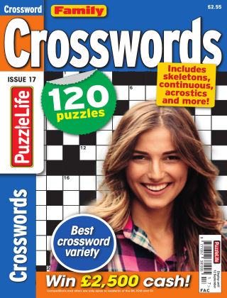 Family Crosswords Issue 017
