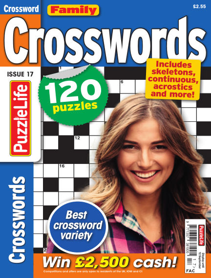 Family Crosswords August 15, 2019 00:00