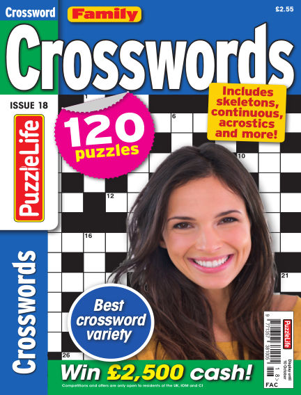 Family Crosswords September 12, 2019 00:00