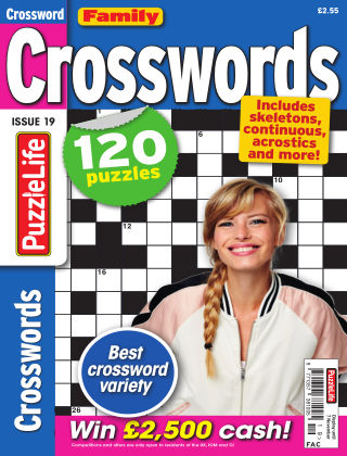 Family Crosswords issue 019