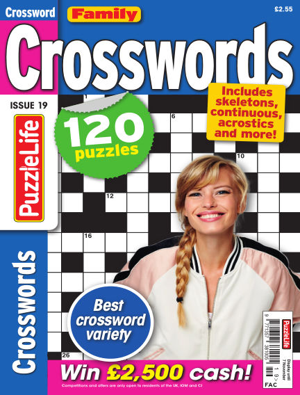 Family Crosswords October 10, 2019 00:00