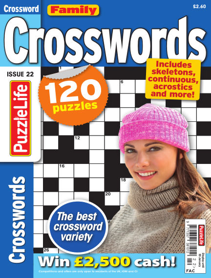 Family Crosswords January 02, 2020 00:00