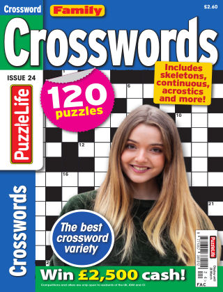 Family Crosswords Issue 024