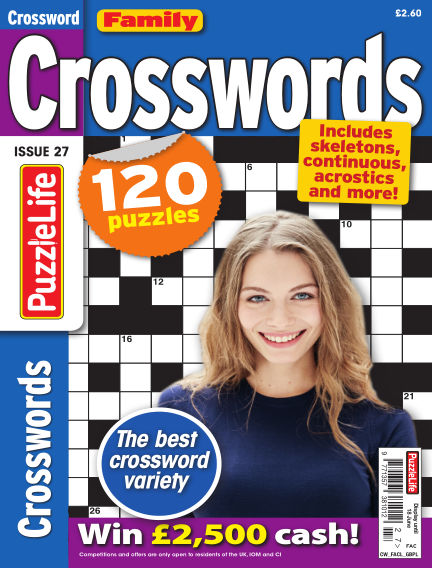 Family Crosswords May 21, 2020 00:00
