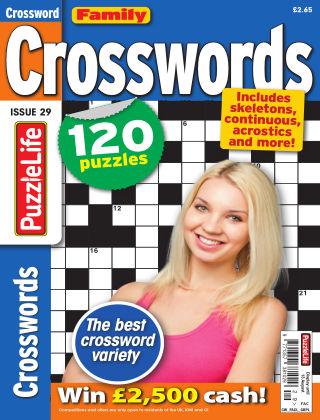 Family Crosswords Issue 029