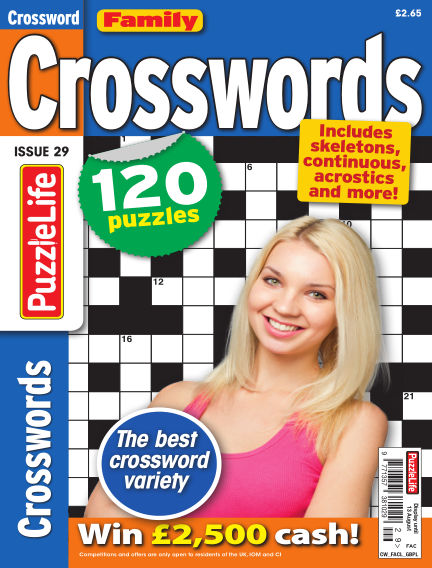 Family Crosswords July 16, 2020 00:00