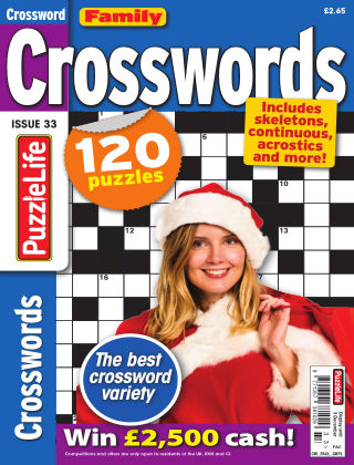 Family Crosswords Issue 033