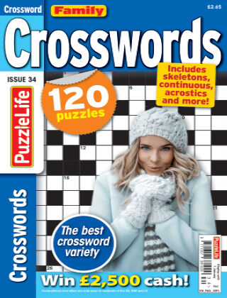 Family Crosswords issue 034