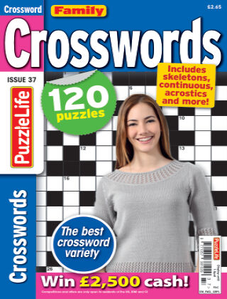 Family Crosswords Issue 037