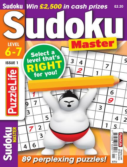 PuzzleLife Sudoku Master 6-7 November 01, 2018 00:00