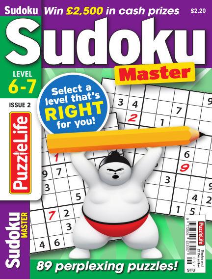 PuzzleLife Sudoku Master 6-7 November 29, 2018 00:00