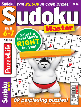 PuzzleLife Sudoku Master 6-7 Issue 008