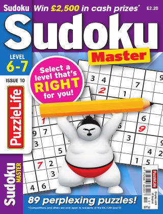 PuzzleLife Sudoku Master 6-7 Issue 010