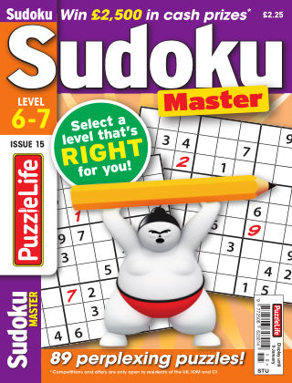 PuzzleLife Sudoku Master 6-7 Issue 015