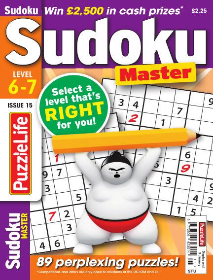 PuzzleLife Sudoku Master 6-7 December 05, 2019 00:00