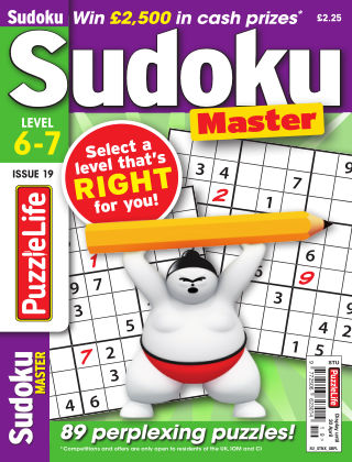 PuzzleLife Sudoku Master 6-7 Issue 019