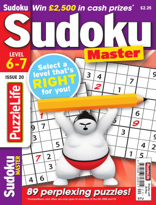 PuzzleLife Sudoku Master 6-7 Issue 020