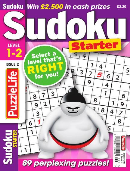 PuzzleLife Sudoku Starter 1-2 December 06, 2018 00:00