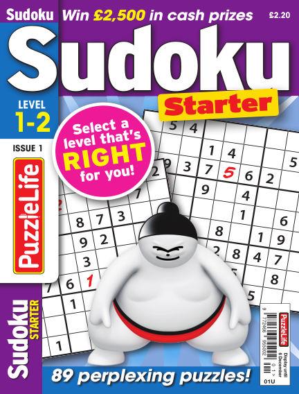 PuzzleLife Sudoku Starter 1-2 November 08, 2018 00:00