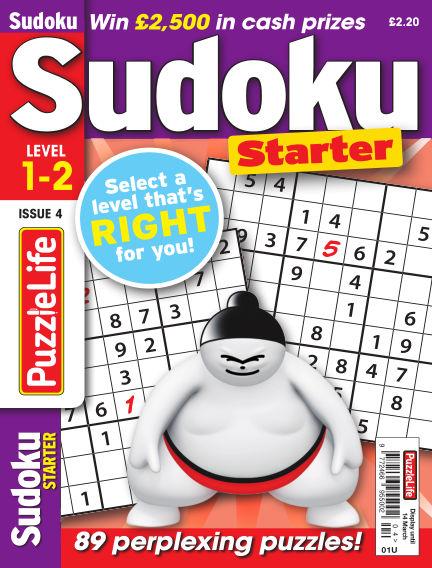 PuzzleLife Sudoku Starter 1-2 February 14, 2019 00:00
