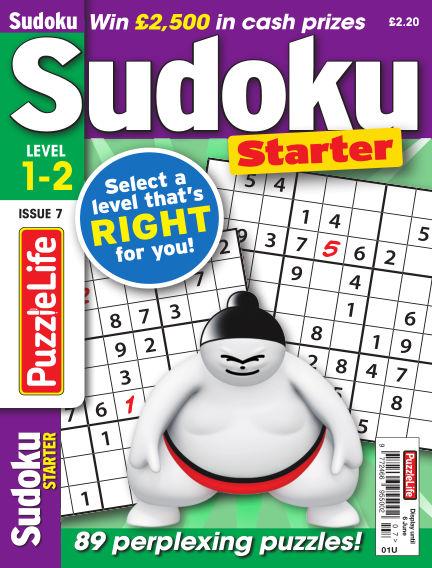 PuzzleLife Sudoku Starter 1-2 May 09, 2019 00:00