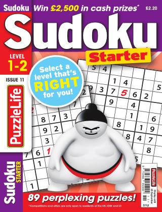 PuzzleLife Sudoku Starter 1-2 Issue 011