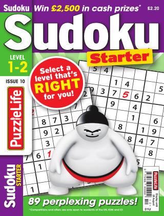 PuzzleLife Sudoku Starter 1-2 Issue 010