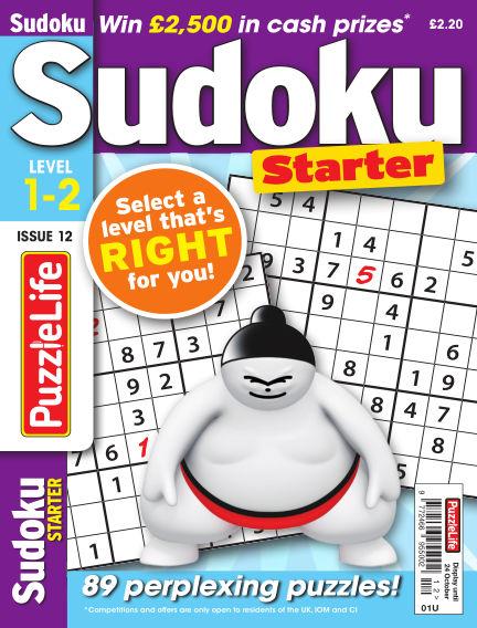 PuzzleLife Sudoku Starter 1-2 September 26, 2019 00:00
