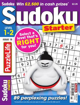 PuzzleLife Sudoku Starter 1-2 Issue 015