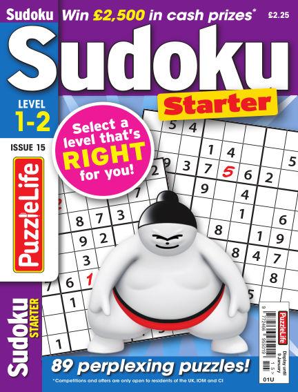 PuzzleLife Sudoku Starter 1-2 December 05, 2019 00:00