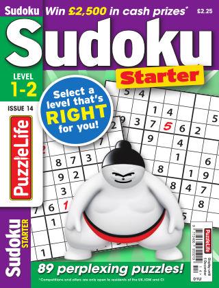 PuzzleLife Sudoku Starter 1-2 Issue 014