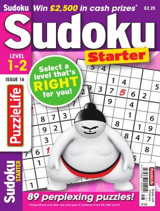PuzzleLife Sudoku Starter 1-2 Issue 016
