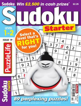 PuzzleLife Sudoku Starter 1-2 Issue 019