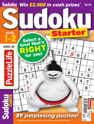 PuzzleLife Sudoku Starter 1-2 Issue 020
