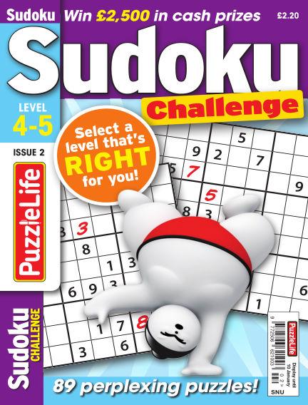 PuzzleLife Sudoku Challenge 4-5 December 13, 2018 00:00