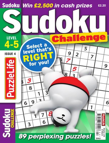 PuzzleLife Sudoku Challenge 4-5 February 21, 2019 00:00