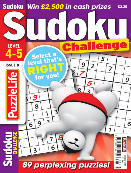 PuzzleLife Sudoku Challenge 4-5 June 13, 2019 00:00