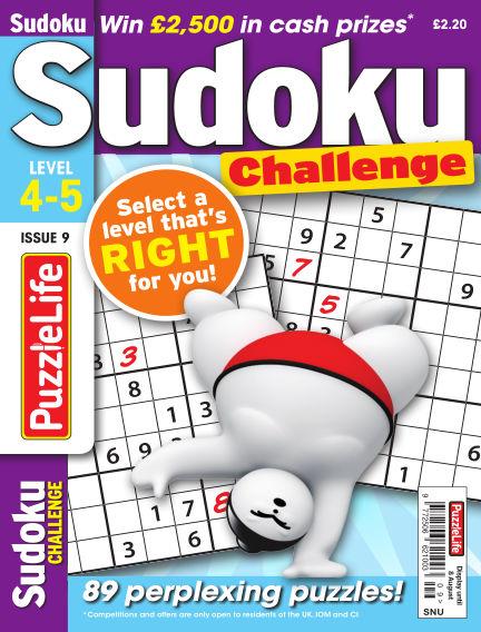PuzzleLife Sudoku Challenge 4-5 July 11, 2019 00:00