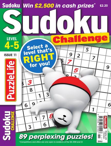PuzzleLife Sudoku Challenge 4-5 September 05, 2019 00:00