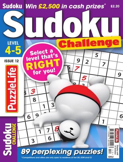 PuzzleLife Sudoku Challenge 4-5 October 03, 2019 00:00