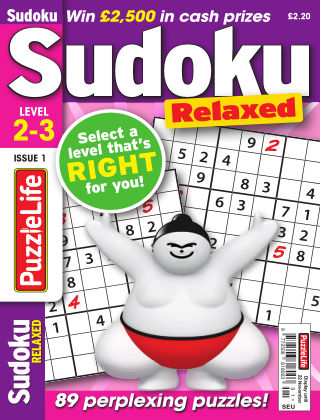 PuzzleLife Sudoku Relaxed 2-3 Issue 001
