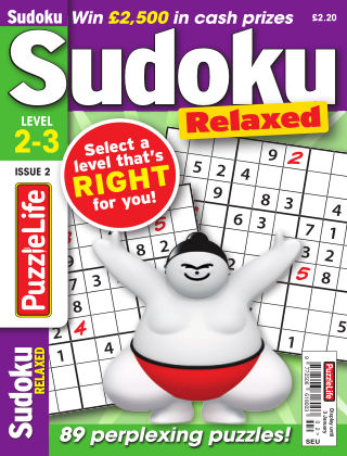 PuzzleLife Sudoku Relaxed 2-3 Issue 002