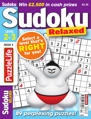 PuzzleLife Sudoku Relaxed 2-3 Issue 004