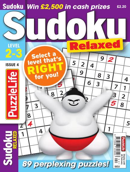 PuzzleLife Sudoku Relaxed 2-3 January 31, 2019 00:00